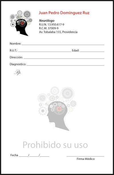 receta para neurologo